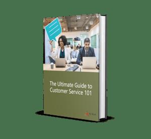 Guide to Customer Service Mockup